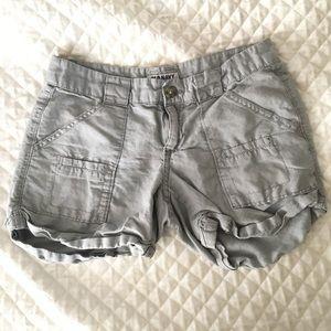 🐚 Old Navy Grey Cargo Shorts